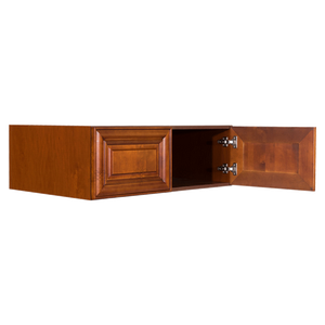 Cambridge Wall Cabinet 2 Doors No Shelf 24inch Depth