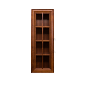 Cambridge Wall Mullion Door Cabinet 1 Door 3 Adjustable Shelves Glass Not Included