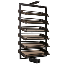 Load image into Gallery viewer, Closet Accessory Zapato-C Rotation Adjustable 6 Shelves Shoe Rack