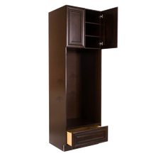 Load image into Gallery viewer, Edinburgh Tall Double Oven Cabinet 2 Upper Doors and 1 Lower Drawer