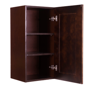 Edinburgh Wall Cabinet 1 Door 2 Adjustable Shelves