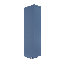 Load image into Gallery viewer, Lancaster Blue Tall Pantry 1 Upper Door and 1 Lower Door