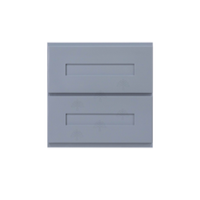 Load image into Gallery viewer, Lancaster Series Dark Gray Finish Shaker Cabinet Counter Top Drawer