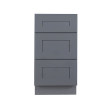 Load image into Gallery viewer, Lancaster Gray Base Drawer Cabinet 3 Drawers