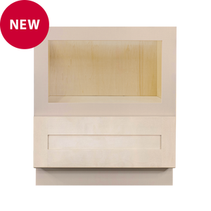 Lancaster Stone Wash Base Microwave with Drawer Cabinet