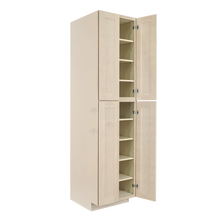 Load image into Gallery viewer, Lancaster Stone Wash Tall Pantry 2 Upper Doors and 2 Lower Doors