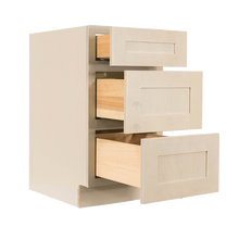 Load image into Gallery viewer, Lancaster Stone Wash Vanity Drawer Base Cabinet 3 Drawers