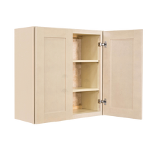 Load image into Gallery viewer, Lancaster Stone Wash Wall Cabinet 2 Doors 2 Adjustable Shelves With 30-inch Height