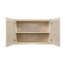 Load image into Gallery viewer, Lancaster Stone Wash Wall Cabinet 2 Doors 1 Adjustable Shelf 24inch Depth