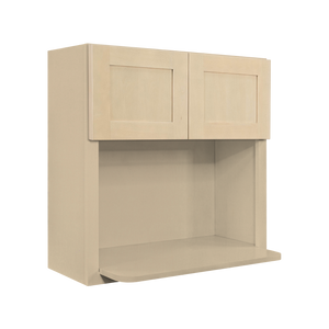 Lancaster Stone Wash Wall Microwave Cabinet