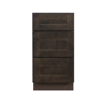 Load image into Gallery viewer, Lancaster Vintage Charcoal Base Drawer Cabinet 3 Drawers