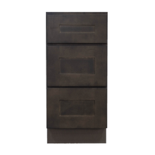 Load image into Gallery viewer, Lancaster Vintage Charcoal Vanity Drawer Base Cabinet 3 Drawers