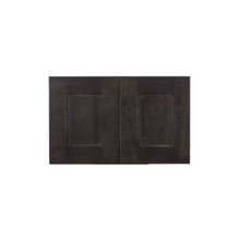 Load image into Gallery viewer, Lancaster Vintage Charcoal Wall Cabinet 2 Doors No Shelf