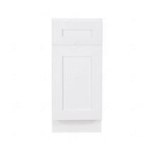 Load image into Gallery viewer, Lancaster Shaker White Base Cabinet 1 Drawer 1 Door 1 Adjustable Shelf