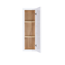 Load image into Gallery viewer, Lancaster Shaker White Wall Cabinet 1 Door 2 Adjustable Shelves 36-inch Height