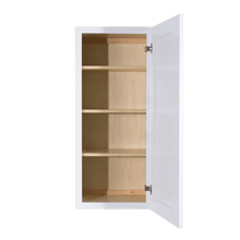Load image into Gallery viewer, Lancaster Shaker White Wall Cabinet 1 Door 3 Adjustable Shelves