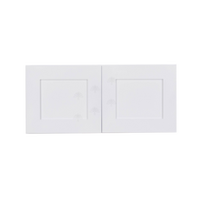 Load image into Gallery viewer, Lancaster Shaker White Wall Cabinet 2 Doors No Shelf