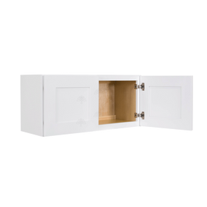 Lancaster Shaker White Wall Cabinet 2 Doors No Shelf