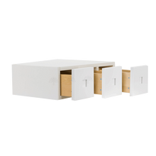 Load image into Gallery viewer, Lancaster Shaker White Wall Small Drawer Cabnet 3 Drawers