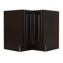 Load image into Gallery viewer, Newport Espresso Lazy Susan Base Cabinet 2 Full Height Folding Doors