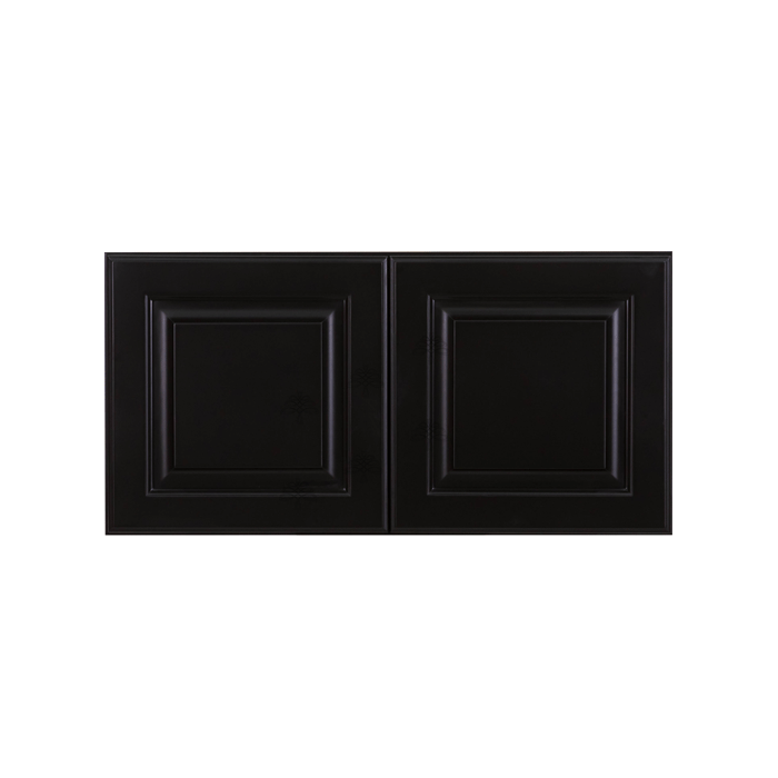 Newport Espresso Wall Cabinet 2 Doors No Shelf
