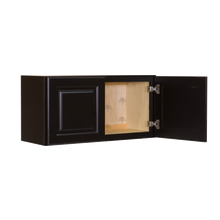 Load image into Gallery viewer, Newport Espresso Wall Cabinet 2 Doors No Shelf