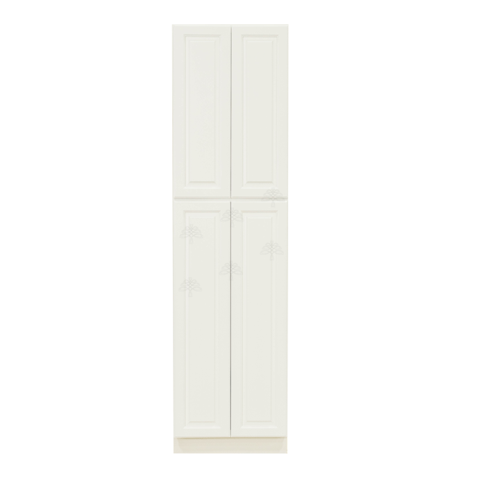 Newport White Tall Pantry 2 Upper Doors and 2 Lower Doors
