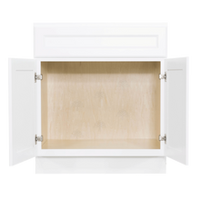 Load image into Gallery viewer, Newport White Vanity Sink Base Cabinet 1 Dummy Drawer 2 Doors