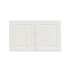 Newport White Wall Cabinet 2 Doors No Shelf