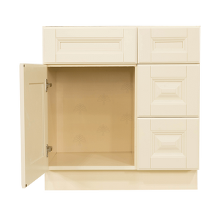 Oxford Vanity Sink Base Cabinet 1 Dummy Drawer 1 Door (Right)