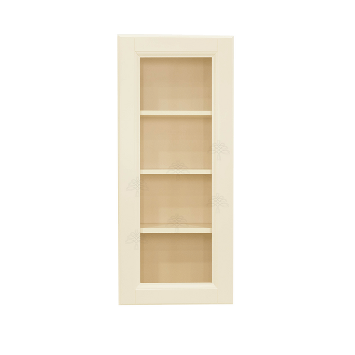 Oxford Wall Mullion Door Cabinet 1 Door 3 Adjustable Shelves Glass Not Included