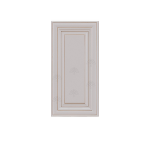 Princeton Creamy White Glazed Wall Cabinet 1 Door 2 Adjustable Shelves