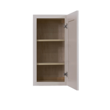 Load image into Gallery viewer, Princeton Creamy White Glazed Wall Cabinet 1 Door 2 Adjustable Shelves