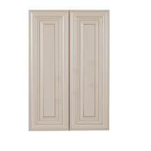 Load image into Gallery viewer, Princeton Creamy White Glazed Wall Cabinet 2 Doors 2 Adjustable Shelves