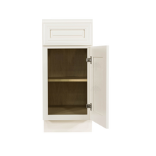 Load image into Gallery viewer, Princeton Off-white Base Cabinet 1 Drawer 1 Door 1 Adjustable Shelf