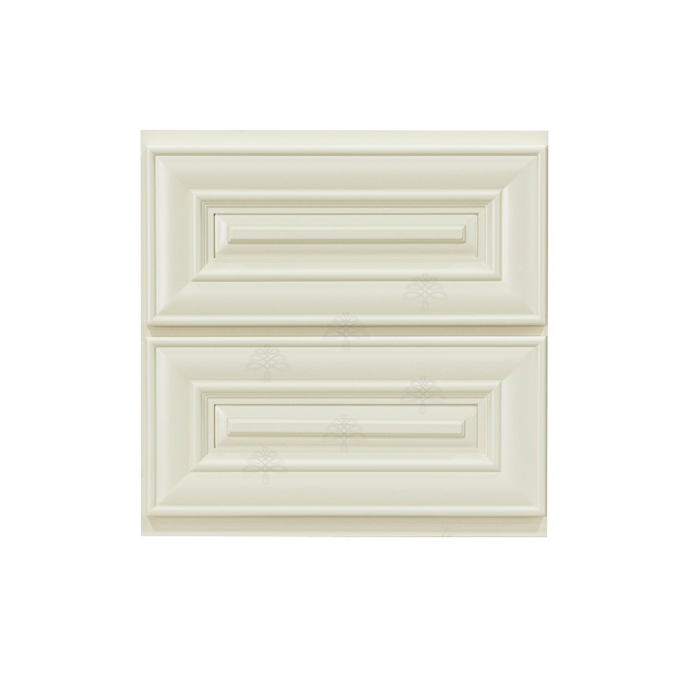 Princeton Series Offwhite Painted Finish Cabinet Counter Top Drawer