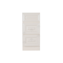 Load image into Gallery viewer, Princeton Off-white Vanity Drawer Base Cabinet 3 Drawers