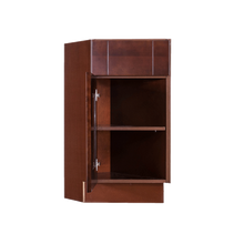Load image into Gallery viewer, Wurzburg Base End Angle Cabinet 1 Fake Drawer 1 Door 1 Adjustable Shelf (Left)