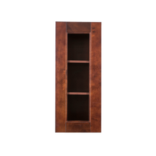 Load image into Gallery viewer, Wurzburg Wall Mullion Door Cabinet 1 Door 2 Adjustable Shelves Glass Not Included