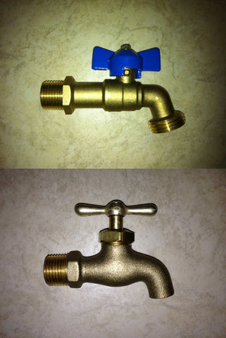 Drain Valve / Hose Bib / Sample Valve for Tank Tee