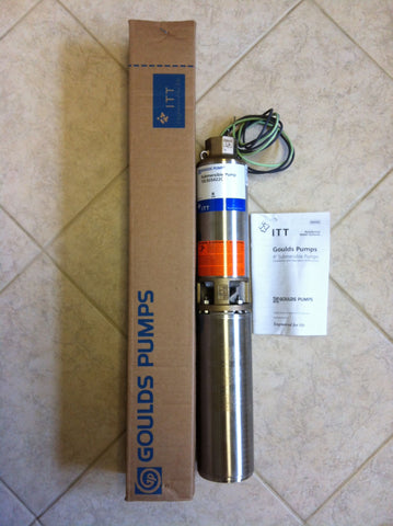 Goulds LS Submersible Well Pump