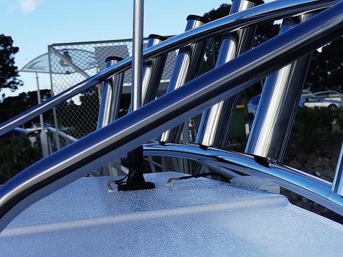 mount marine boat stainless steel fabrication