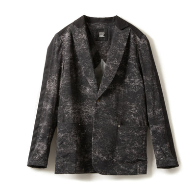 Printed Stretch Jacket/プリンテッドストレッチ ジャケット