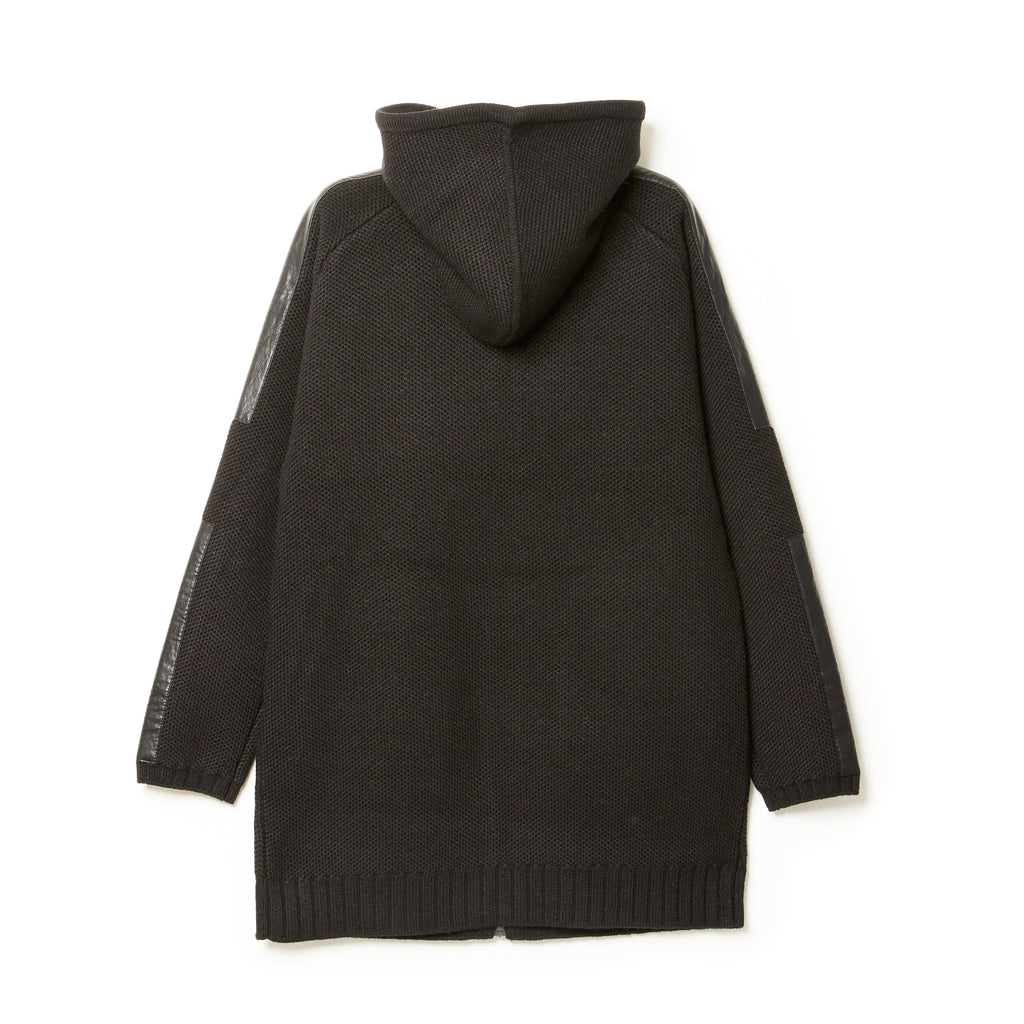 Hooded Short Coat