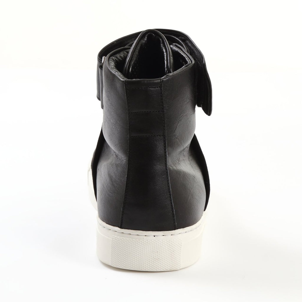 Combination Leather High Cut Sneaker