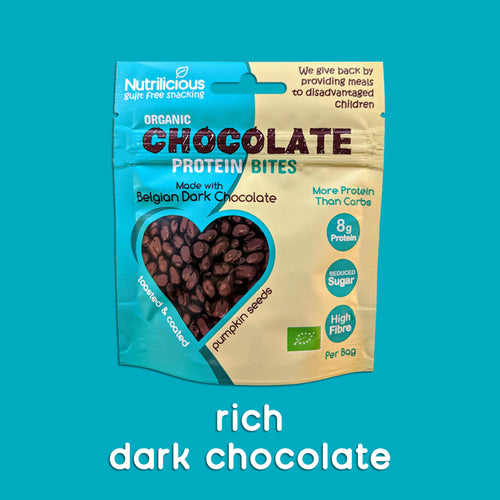 Rich Belgian Dark Chocolate - 12 Bags