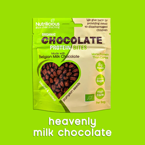 Heavenly Belgian Milk Chocolate - 12 Bags