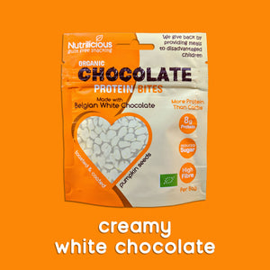 Creamy Belgian White Chocolate - 12 Bags