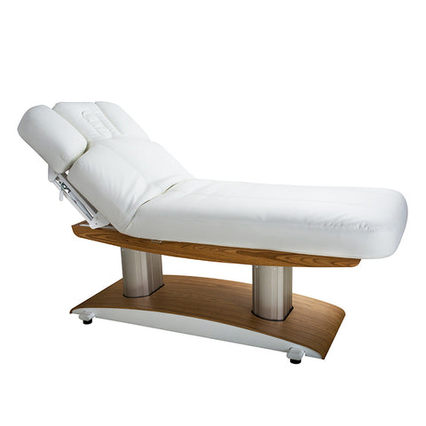 Silver Fox Luna H 59 Plus Electric Massage Table, White (2259+)