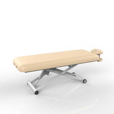 Silver Fox Flat Electric Massage Table, Beige (2274)
